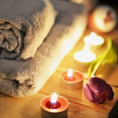 Ambiente cálido para masaje Monica H. Rosety Quiromasaje